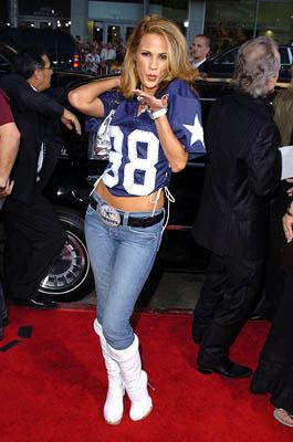 Bonnie-Jill Laflin at the Hollywood premiere of Paramount Pictures' The Longest Yard