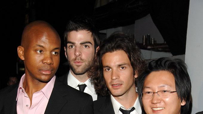 Leonard Roberts, Zachary Quinto, Santiago Cabrera, Masi Oka and Noah Gray-Cabey at the 5th Annual TV Land Awards.