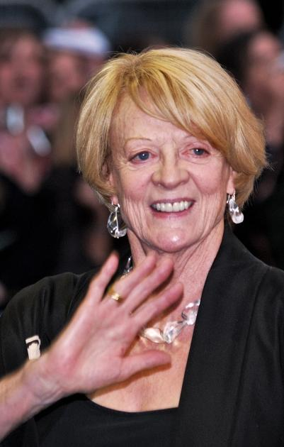 Maggie Smith arrives in London's Leicester Square for the European Premiere of 'Harry Potter and the Order of the Phoenix' on July 3, 2007 -- Getty Premium