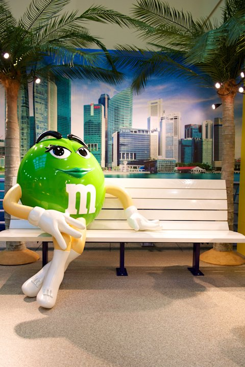 Sweet treats galore at Changis new M&Ms store 5