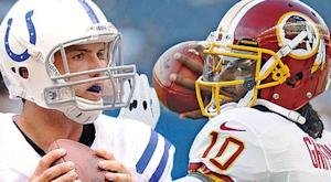 Rookie Meter: Luck vs. RG3 begins
