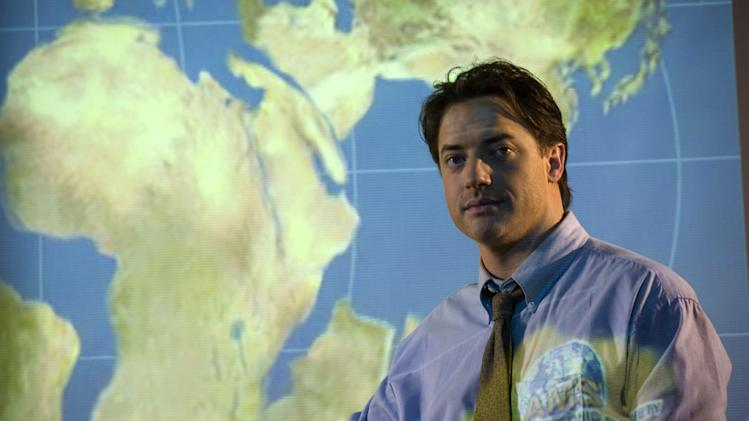 Brendan Fraser Journey to the Center of the Earth Production Warner Brothers New Line 2008