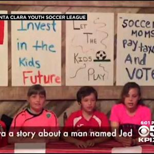 Santa Clara Youth Soccer Players Take On 49ers In Battle For Field