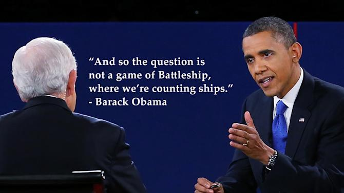 Best quotes of the final presidential debate