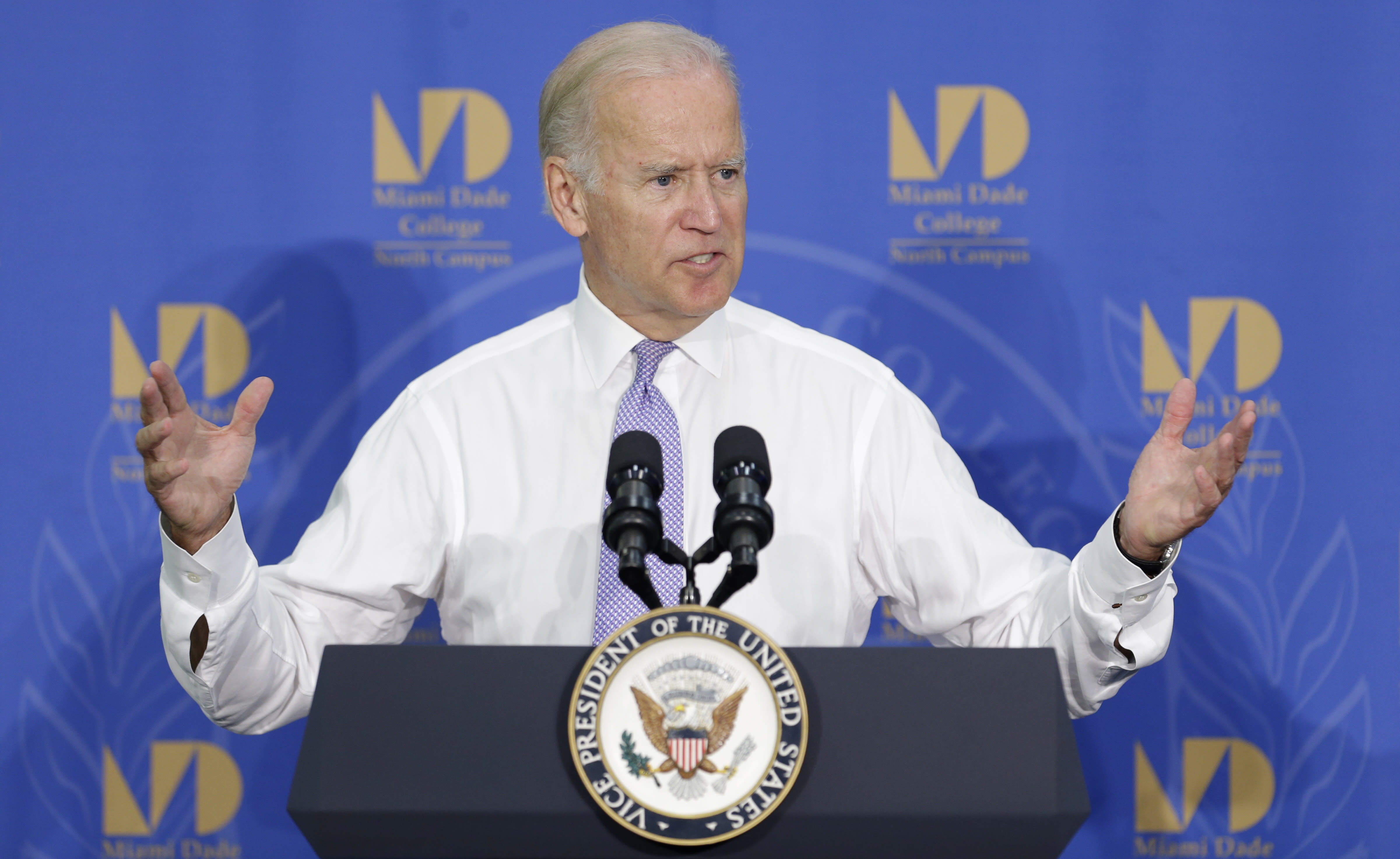 Biden testing political waters in Florida