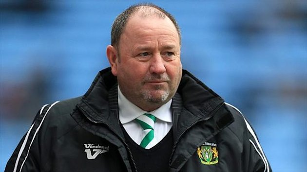 Gary Johnson believes the pressure is off his Yeovil side