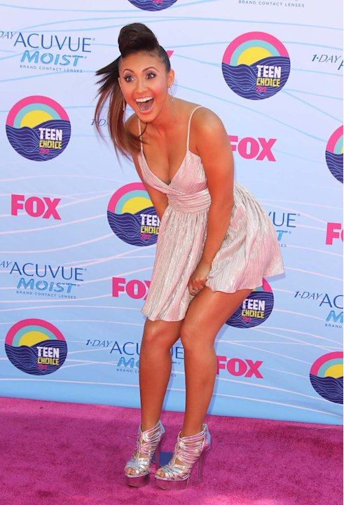 Mucho viento en los Teen Choice Awards 2012