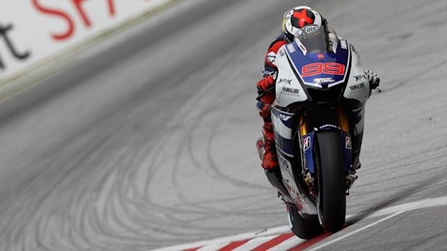 Jorge Lorenzo flies to pole in Malaysia