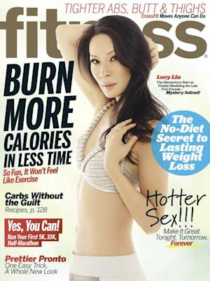 Lucy Liu on the cover of Fitness Magazine (March 2013) -- Fitness Magazine