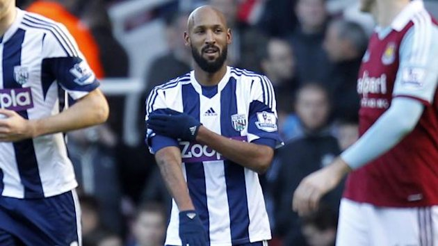 West Brom striker Nicolas Anelka made the quenelle gesture in December
