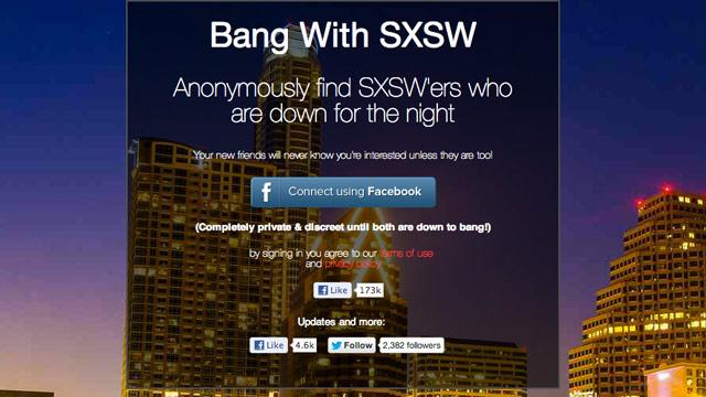 At SXSW, New Sex Apps Focus on that Other Type of Festival Networking