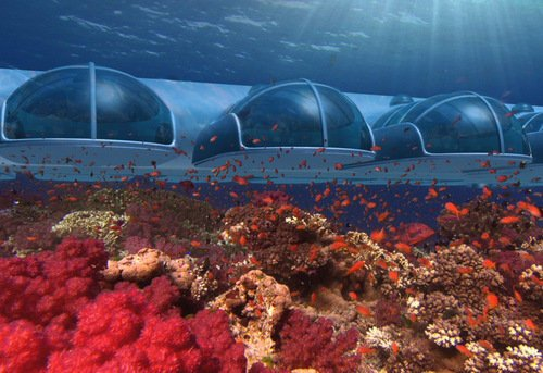 Sleep with the fishes in Fiji's underwater hotel
