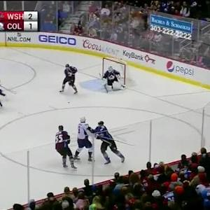 Reto Berra Save on Alex Ovechkin (02:54/3rd)