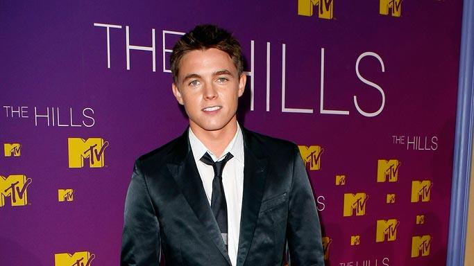 Jesse McCartney at the Live Season 3 Hills finale party.