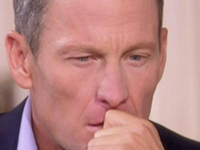 Armstrong Emotional in 2nd Part of Interview