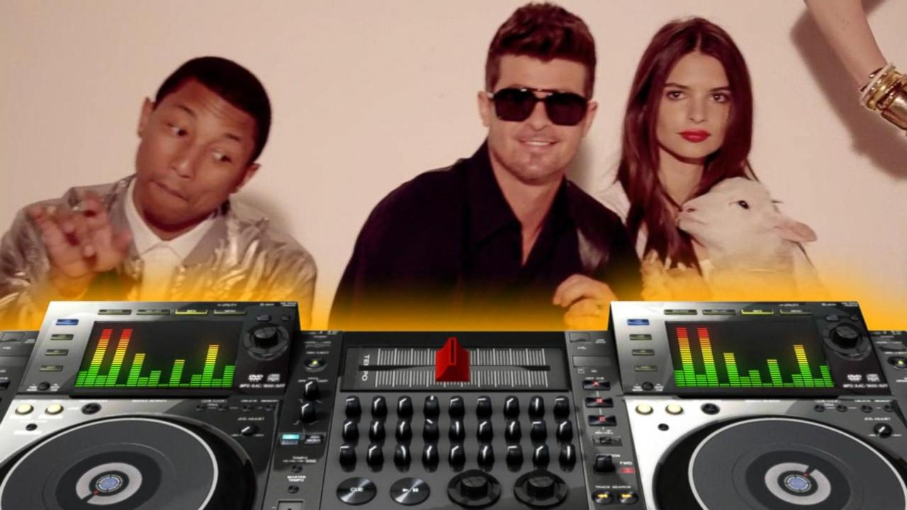 Robin Thicke, Pharrell Williams Deny Copyright Infringement Claim