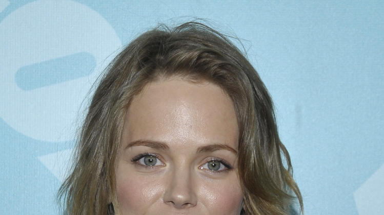 Actress Katia Winter arrives at the 2013 FOX Programming Presentation Post Party at Wollman Rink in Central Park on Monday, May 13, 2013 in New York, New York. (Photo by Andrew Marks/Invision for FOX/AP Images)