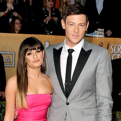 "Lea Michele on Cory Monteith's Rehab Stay: I ""Will Stand By Him"""
