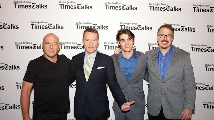 "TimesTalk Presents An Evening With ""Breaking Bad"""