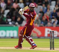 Dwayne Smith (pictured) shared a stand of 130 with Chris Gayle