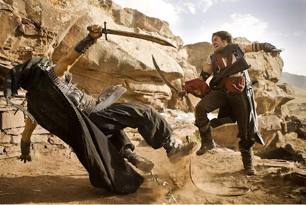 Prince of Persia the sands of time Walt Disney Pictures 2010 Thomas DuPont Jake Gyllenhaal