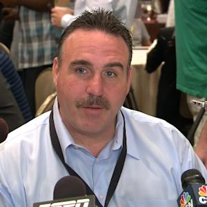 San Francisco 49ers head coach Jim Tomsula excited about running back Reggie Bush's arrival