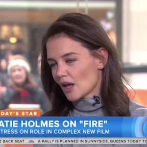 Matt Lauer Asks Katie Holmes About His Heated 2005 Interview With Tom Cruise - See Her React!