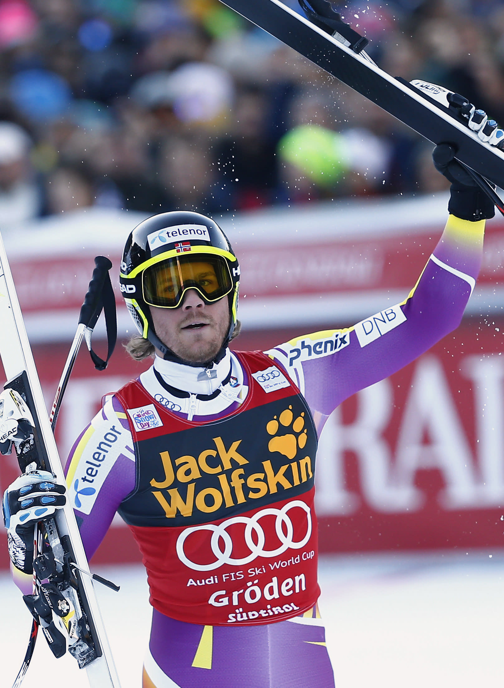 Norway's Jansrud wins super-G in Val Gardena