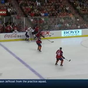Erik Gudbranson Hit on Joel Ward (08:02/3rd)