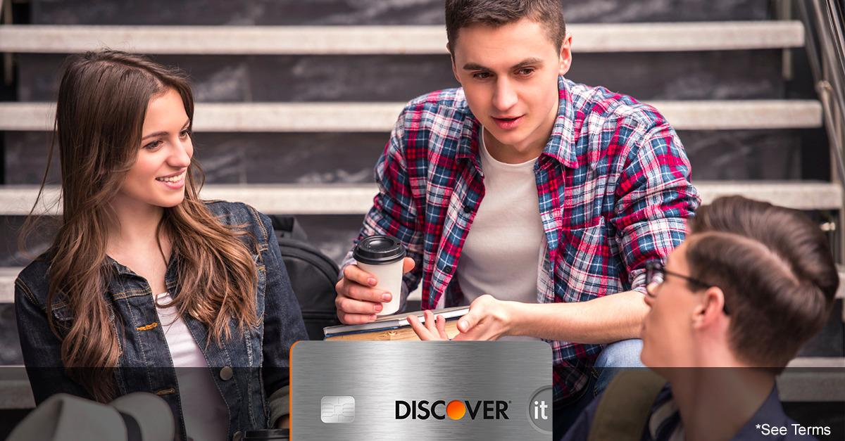Discover® Steps Up Its College Card Benefits