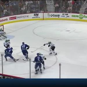 Kari Lehtonen Save on Linden Vey (04:39/1st)
