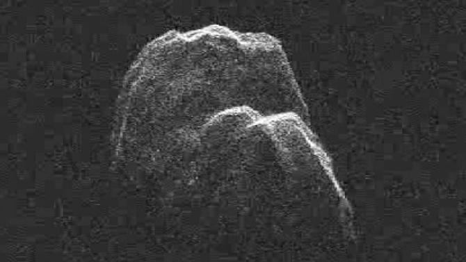 NASA releases video of massive asteroid