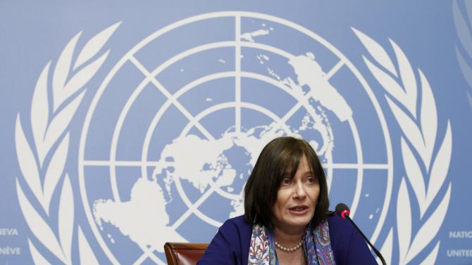 World Health Organization (WHO) Assistant Director-General Kieny addresses a news conference on Zika virus in Geneva