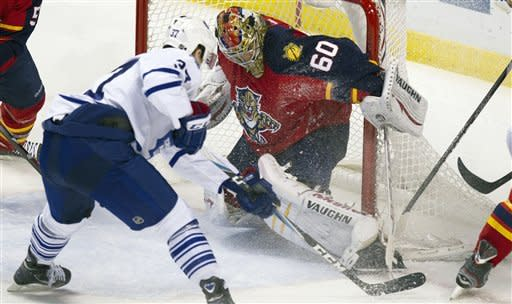 Bergenheim lifts Panthers past Maple Leafs, 5-2