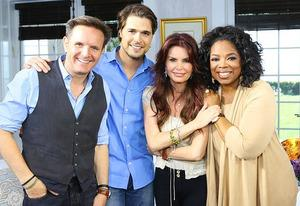 Mark Burnett, Dioga Morgado, Roma Downey, Oprah Winfrey | Photo Credits: George Burns/2013 Harpo Studios Inc