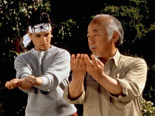 Mr. Miyagi, Karate Kid