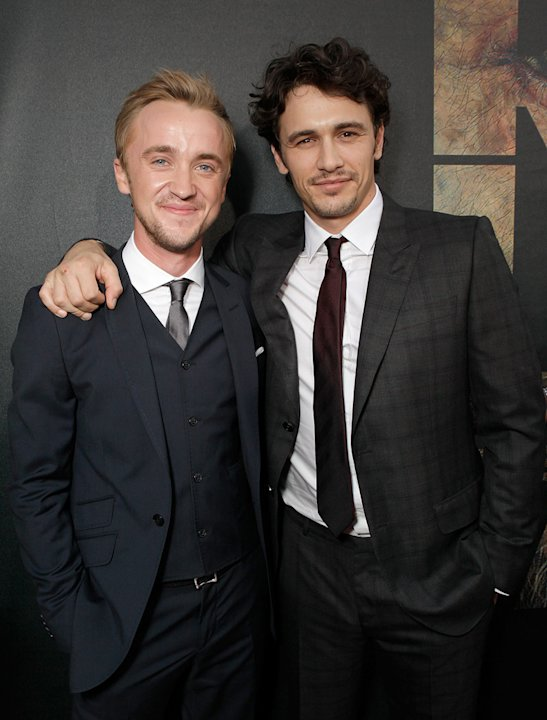 Rise of the Planet of the Apes 2011 LA Premiere Tom Felton James Franco