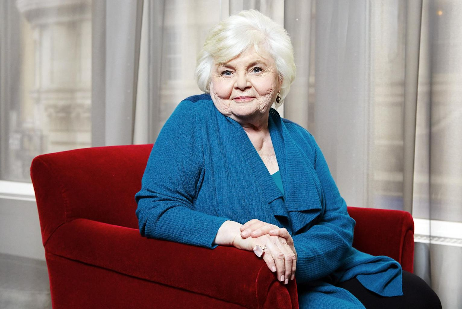 This Jan. 27, 2014 photo shows Oscar-nominated actress June Squibb in