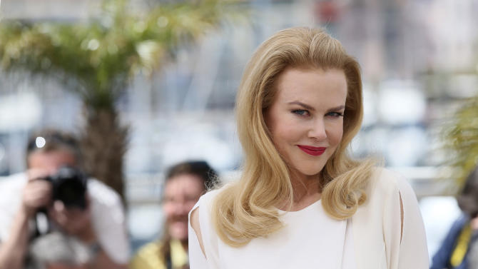 Actress Nicole Kidman poses for photographers during a photo call for Grace of Monaco at the 67th international film festival, Cannes, southern France, Wednesday, May 14, 2014. (AP Photo/Alastair Grant)