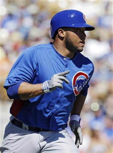 Castillo triples, Cubs beat Dodgers 8-1