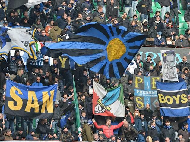 Inter punished for racism