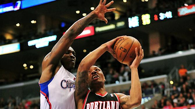 NBA: Portland Trail Blazers at Los Angeles Clippers