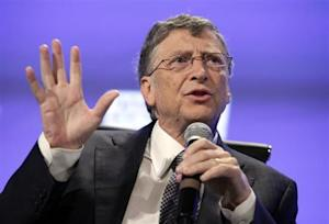 Bill Gates speaks during Peterson Institute 2013 Fiscal Summit on Facing the Future in Washington