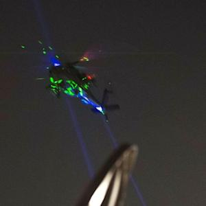 The Dangers of Pointing Lasers at Planes