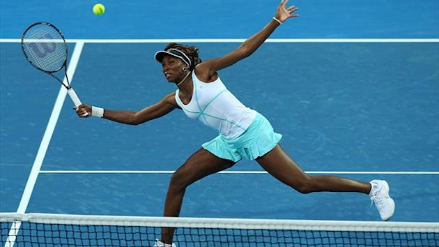 Venus Williams beim Hopman Cup