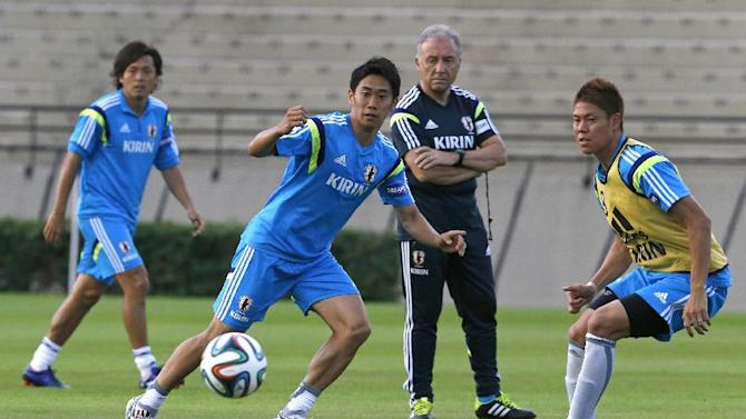 Japan counting on Honda and Kagawa at World Cup