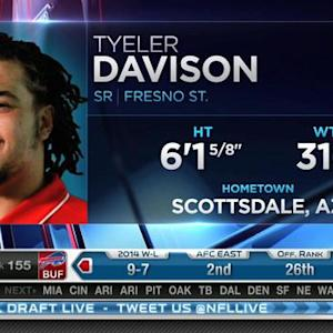 New Orleans Saints pick defensive tackle Tyeler Davison No. 154