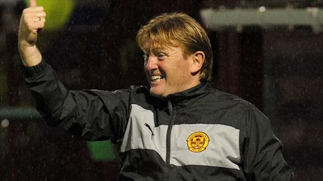 Stuart McCall is in the running for the PFA Scotland manager of the year award