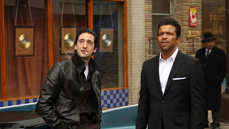 Adrien Brody Jeffrey Wright Cadillac Records Production Stills Tristar 2008