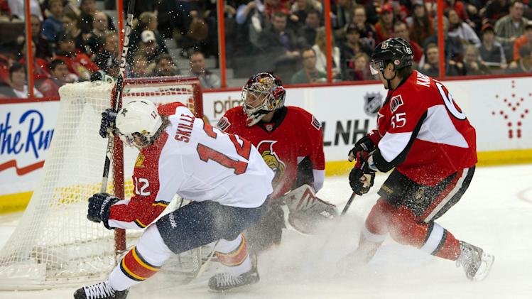 NHL: Florida Panthers at Ottawa Senators